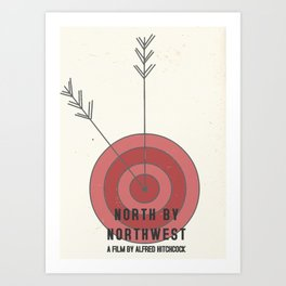 North by Northwest #1 Art Print