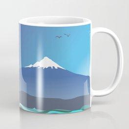 Mont Taranaki From The Sea Coffee Mug