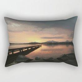 abendstimmung coastal evening Rectangular Pillow