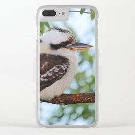Early Morning Wake Up Call Clear iPhone Case