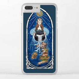 The cauldron Clear iPhone Case
