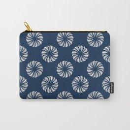 Shibori Swircles Carry-All Pouch