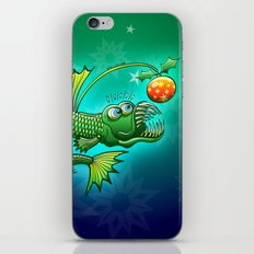 Christmas Abyssal Angler Fish iPhone & iPod Skin