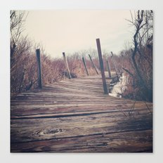 Wanderlust - Roam Wherever the Path May Lead Canvas Print