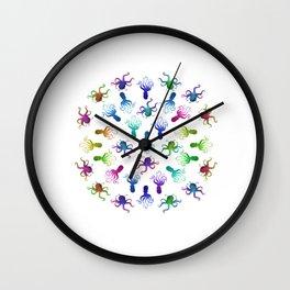 The Circle of Octopi Wall Clock