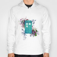 doctor who Hoodies featuring Doctor Who by Laain Studios