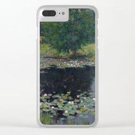Willard Metcalf - Pond Lilies Clear iPhone Case