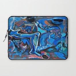The Blue Cadaver Laptop Sleeve