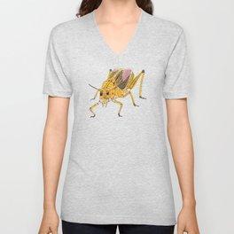 Grasshopper Cubed Unisex V-Neck
