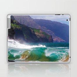 Napali Crashing Waves - Kauai Northshore Laptop & iPad Skin