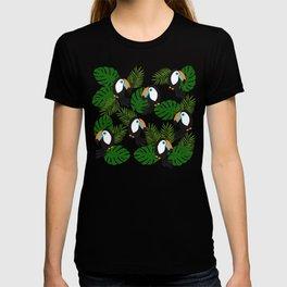 Toucan pattern T-shirt