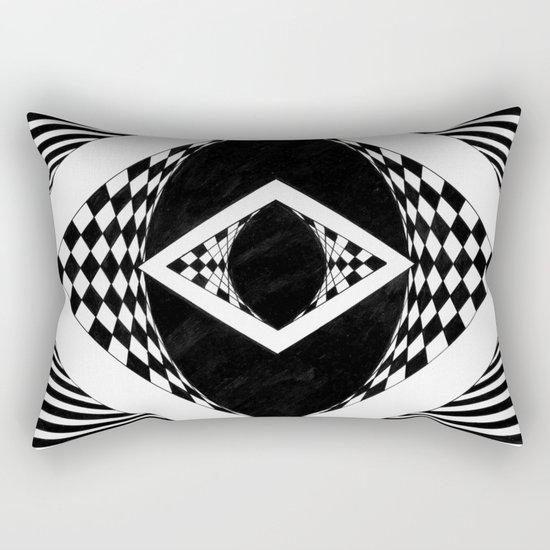 an eye for an eye Rectangular Pillow