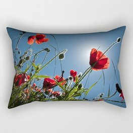The Poppies Rectangular Pillow
