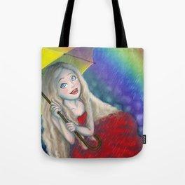 Beautiful Rainy Day Tote Bag