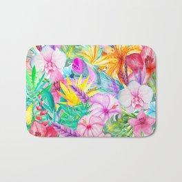 beauty floral i Bath Mat