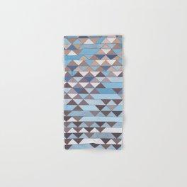Triangle Pattern No.6 Crisp Blue Hand & Bath Towel