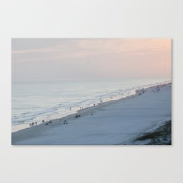 Sea Meets Land Canvas Print