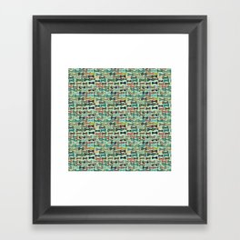 Bow tiesss  Framed Art Print