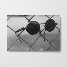 Cool Fence Metal Print