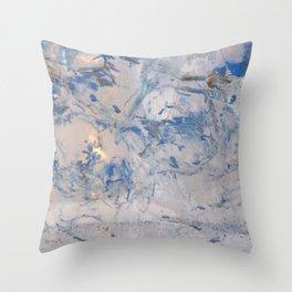 Ice 5 Throw Pillow
