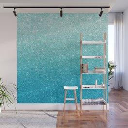 Ombre glitter #13 Wall Mural