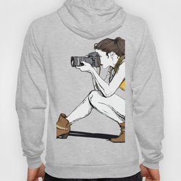 Photograph in the making Hoody