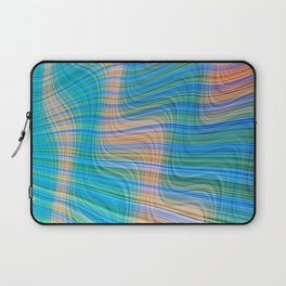 Topsy turvy waves Laptop Sleeve