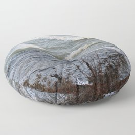 Cave Point Floor Pillow