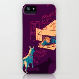 Halt! Who Goes There? iPhone Case