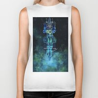 architect Biker Tanks featuring Architect 1  by HourglassAxis