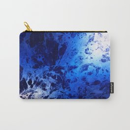 Blue Marble Dream Abstract Carry-All Pouch