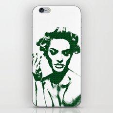 Smoke: Candice Swanepoel iPhone & iPod Skin