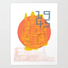 Casualties Art Print