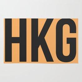 HKG Hog Kong Luggage Tag 2 Rug