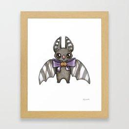 Harvest Bat Framed Art Print
