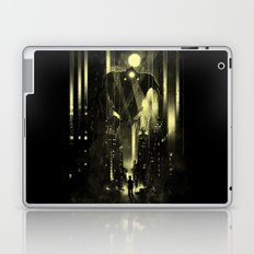 Giant robot and the kid Laptop & iPad Skin