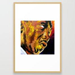 """Arthur """"Art"""" Blakey  Framed Art Print"""