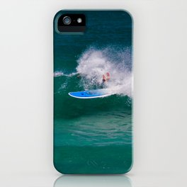 The Surfer iPhone Case