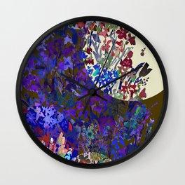 Harvest Moon Garden Wall Clock