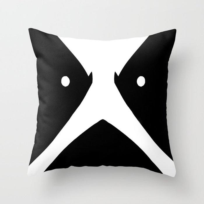 Hubbath corpse paint Throw Pillow