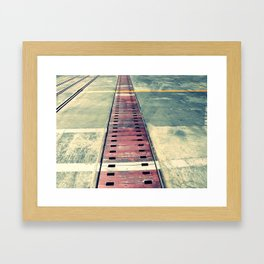 Airplane Hangar Floor 1 Framed Art Print