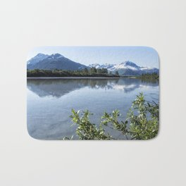 Placer River at the Bend in Turnagain Arm, No. 2 Bath Mat