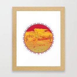 Day Tripper. Framed Art Print