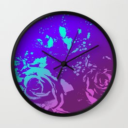 Rosie Abstract Wall Clock