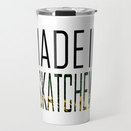 Made In Saskatchewan Travel Mug