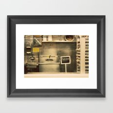 Sold Out Framed Art Print