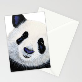 Panda Bear ' HuGSy ' by Shirley MacArthur Stationery Cards