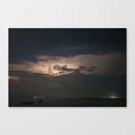 Storm's Coming Canvas Print