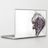xenomorph Laptop & iPad Skins featuring Alien by CRWarner