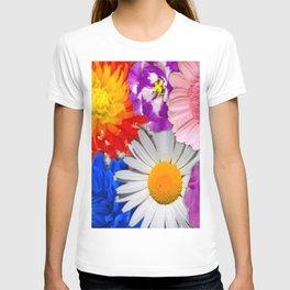 lovely Flower mix T-shirt